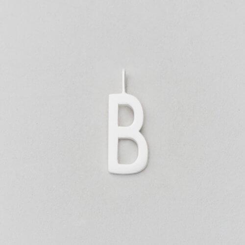 Design Letters Buchstabe B (16 mm) Silber