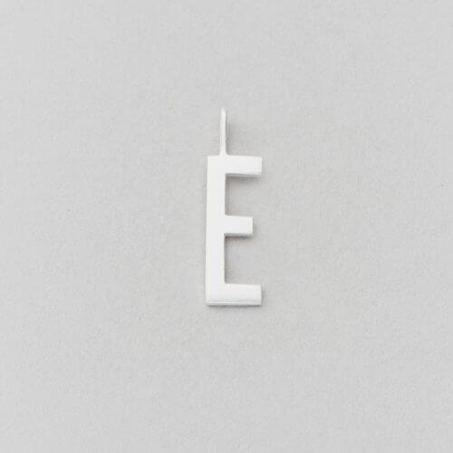 Design Letters Buchstabe E (16 mm) Silber