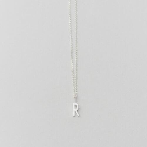 Design Letters Buchstabe R (10 mm) Silber