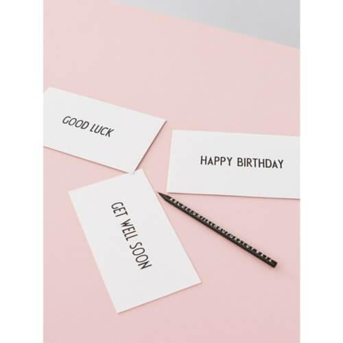 "Design Letters Postkarte ""Happy Birthday"""