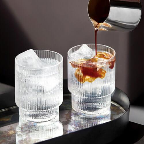 ferm Ripple Glas 4er-Set