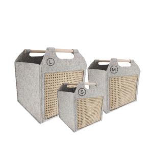Storefactory Korb Grau