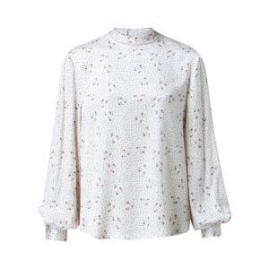 YAYA Bluse mit Paisley-Muster - Cremeweiß