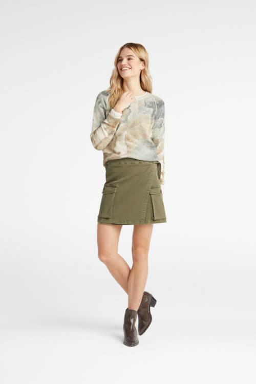 YAYA Alpaca-Pullover Pastellfarben
