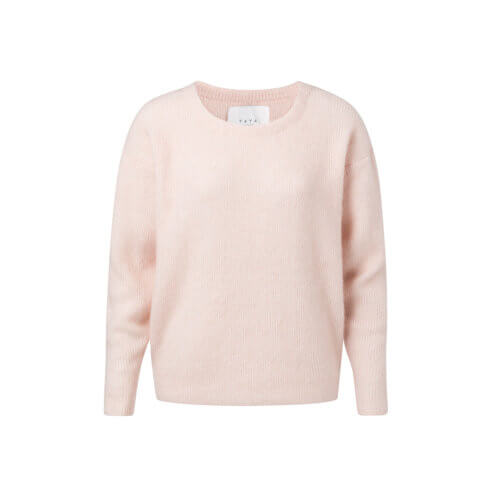YAYA Cashmere-Pullover Rosé
