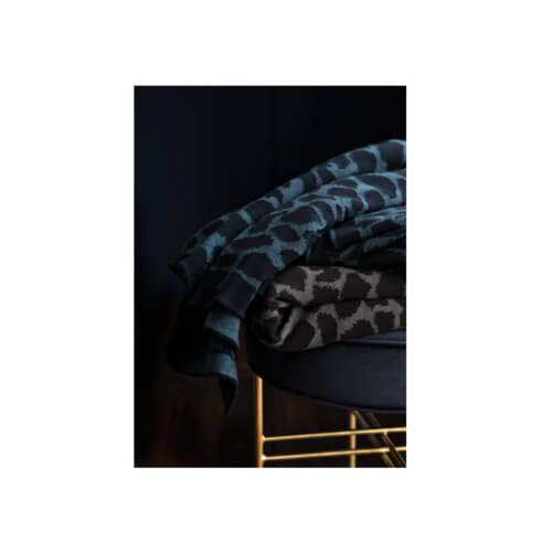 Cozy Living Decke Camouflage, in Grau und Blau