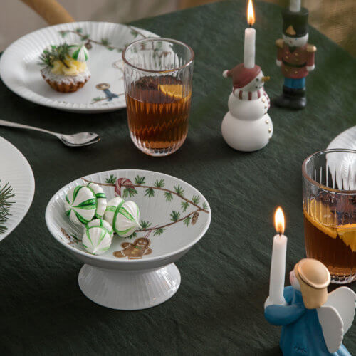 Kähler Hammershøi Weihnachtsschale – Ø 16 cm