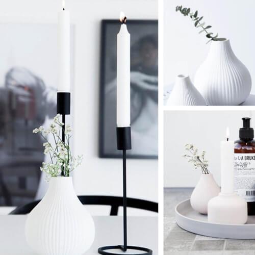 Storefactory Ekenäs Vase Weiß S