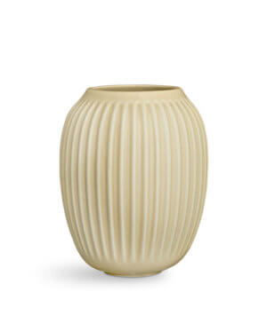 Kähler Hammershøi Vase Birke – H 20 cm