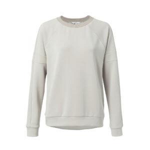 YAYA Modal Pullover Hellgrau