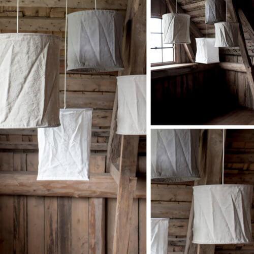 Storefactory Lampe Lindås Grau inkl. Pendel