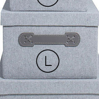 Storefactory Aufbewahrungsbox Grau L