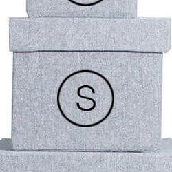 Storefactory Aufbewahrungsbox Grau S