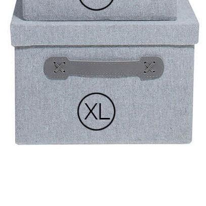 Storefactory Aufbewahrungsbox Grau XL