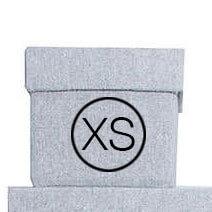 Storefactory Aufbewahrungsbox Grau XS