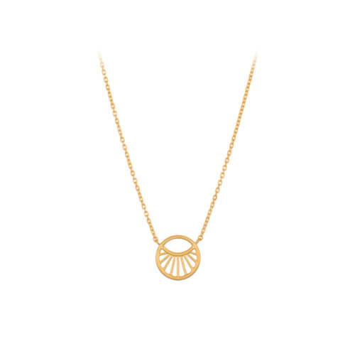 Pernille Corydon Halskette Daylight Golden S (12mm)