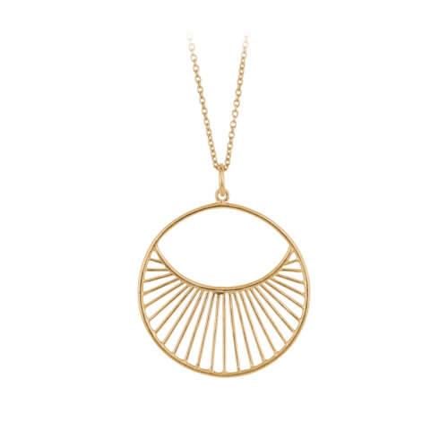 Pernille Corydon Halskette Daylight Golden L