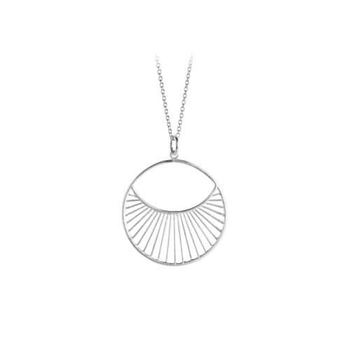 Pernille Corydon Halskette Daylight Silber M (22mm)