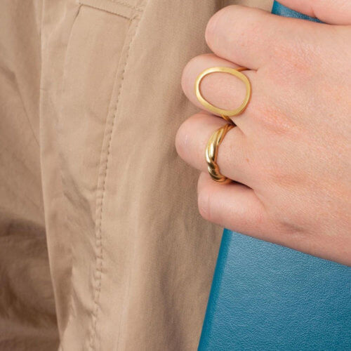 Pernille Corydon Ring Berlin Golden (55mm)