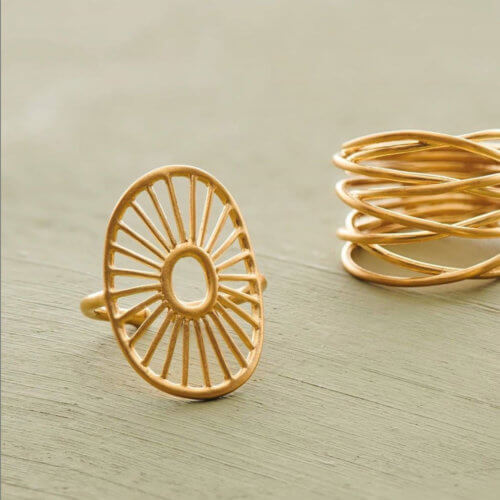 Pernille Corydon Ring Daylight Golden