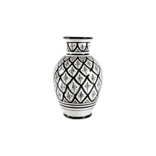 Marokkanische Vase Peacock M