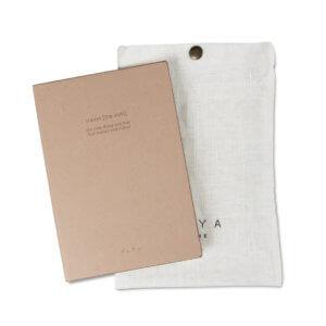 YAYA Notizbuch Travel mit Textiltasche