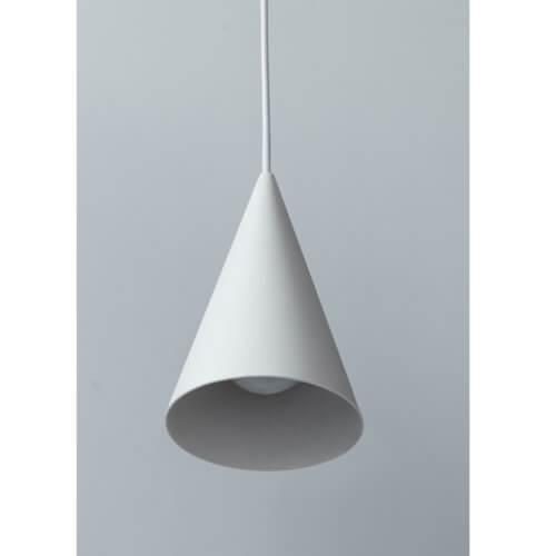 Moebe Lampe Keramik Weiß