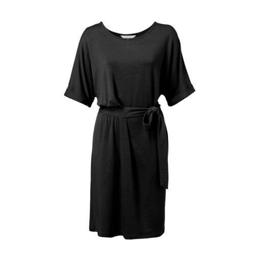 YAYA Modal Kleid Schwarz