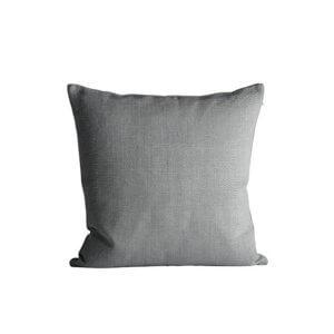 TineK Kissenbezug Baumwolle Grau