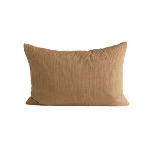 TineK Kissenbezug Baumwolle Senf
