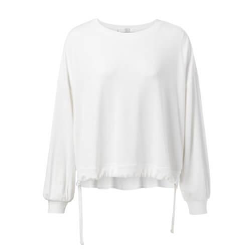 YAYA Modal Sweatshirt Weiß