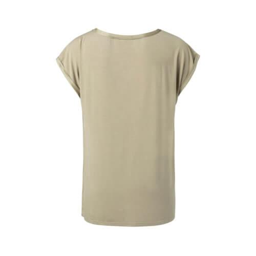 YAYA Viskose-Shirt Khaki