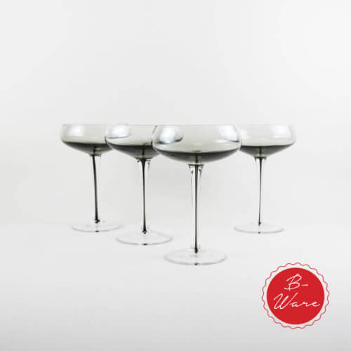 Broste B-Ware Cocktailglas Smoke 4er Set