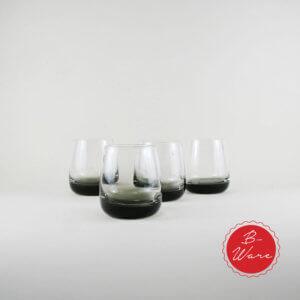 Broste B- Ware Trinkglas Smoke Klein 4er Set