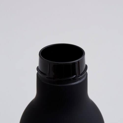 Design Letters Trinkflasche Schwarz TO GO