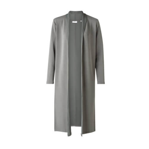 YAYA Modal Cardigan Grau-Grün