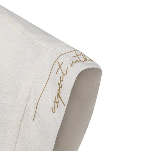 YAYA Shirt Weiß mit Rückenausschnitt