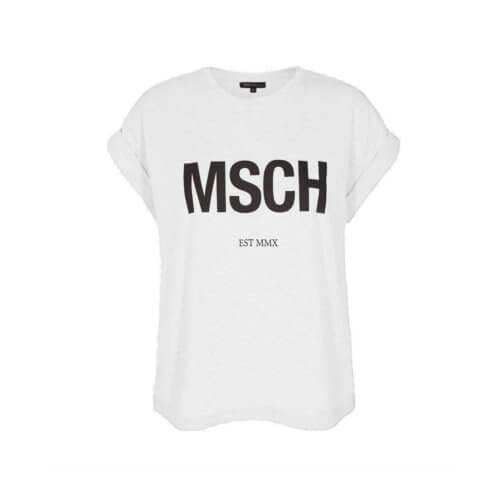 Moss Copenhagen Shirt Weiß