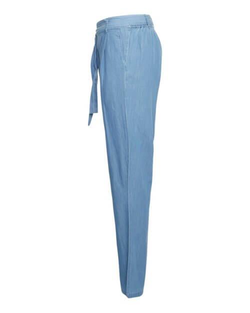 Moss Copenhagen Hose Jeansblau