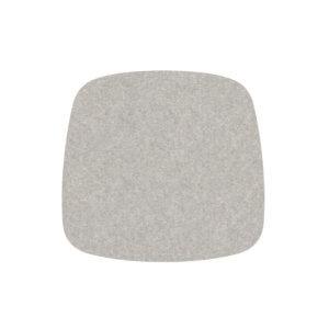 HEY Sitzauflage Eames Armchair Hellmeliert-Grau