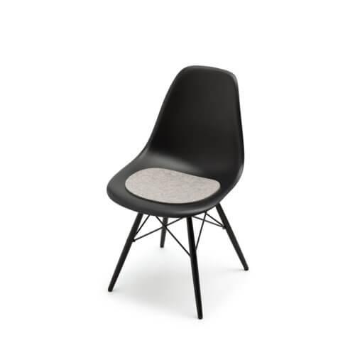 HEY Sitzauflage Eames Sidechair Hellmeliert-Grau