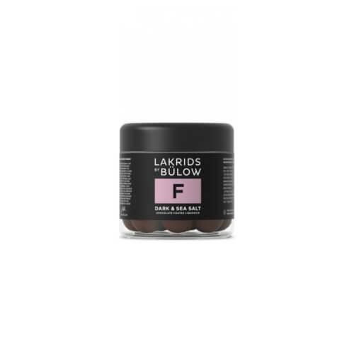 Lakrids F Dark Sea Salt Small 125 g