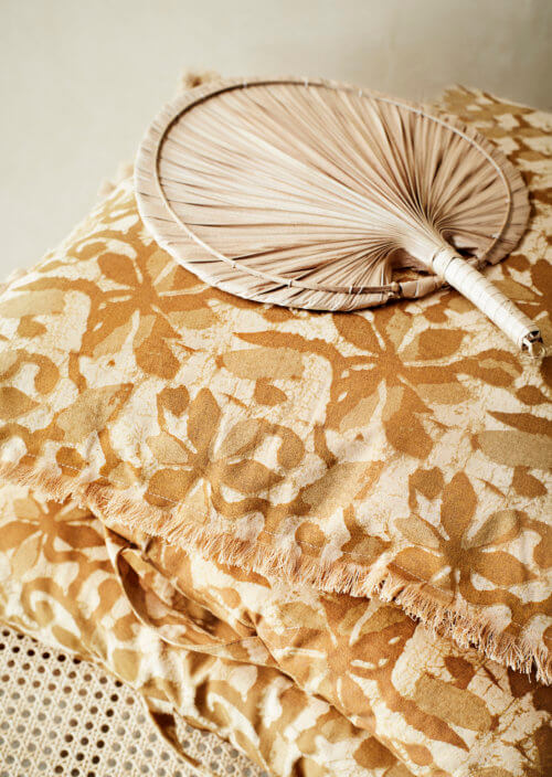Madam Stoltz Wand-Dekoration Palmenblatt