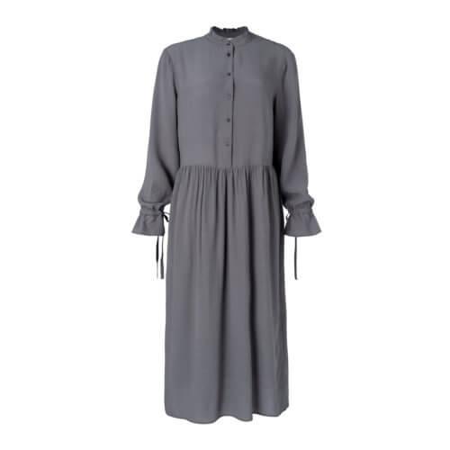 YAYAViskose-Kleid Grau
