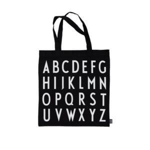 Design Letters Beutel ABC Schwarz
