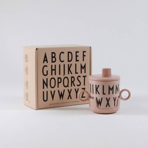 Design Letters Melaminbecher-Set Nude