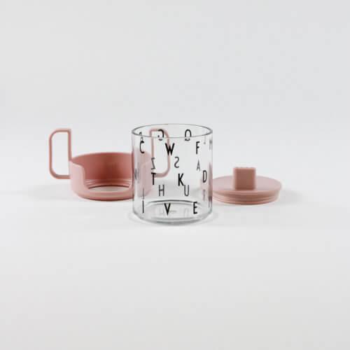 Design Letters Becher-Set Transpart