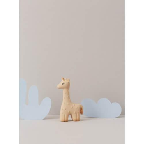OYOY Beißring Giraffe Senf