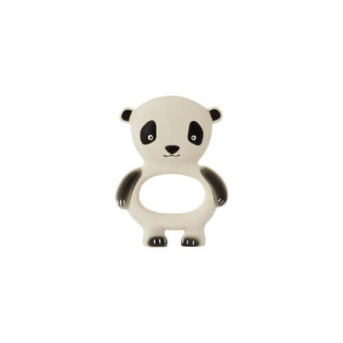 OYOY Beißring Panda Weiß