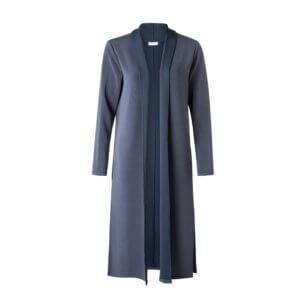 YAYA Modal Cardigan Blau-Grau